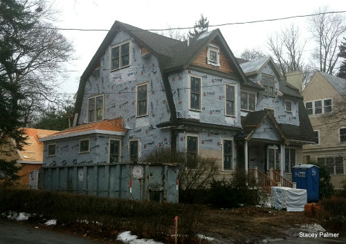 16 Garden Road Newton MA Home Renovation Project.