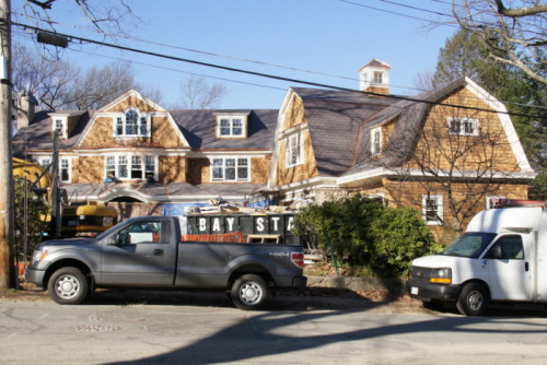 New Construction Project in Newton MA.